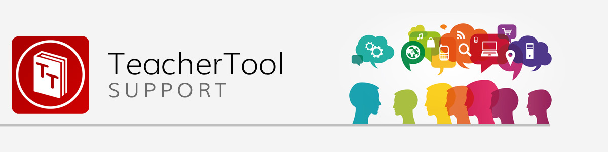 TeacherTool SUPPORT
